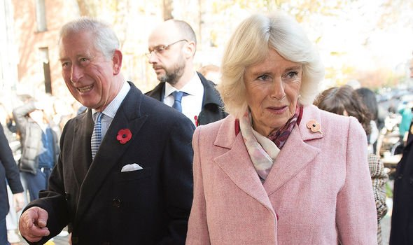 Camilla received scrutiny from the media from Charles and Dianas divorce