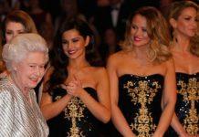 Cheryl met the queen in Image GETTY