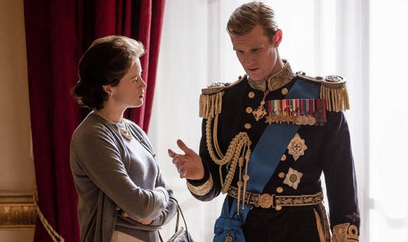 Claire Foy and Matt Smith played the Queen and Prince Philip in Series One and Two Image Netflix