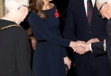 Kate Middleton impressed with her look at the event Image GETTY
