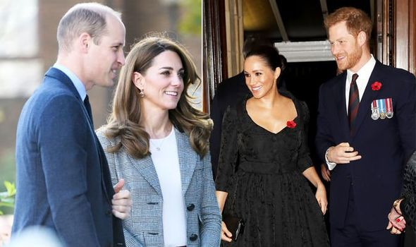 Kate Middleton news Duke and Duchess of Cambridge include Meghan and Harry in 'classy' move Image GETTY