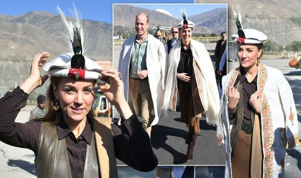 Kate Middleton news The Duchess of Cambridge Prince William are in the Chitral region of Pakistan Image Getty Images