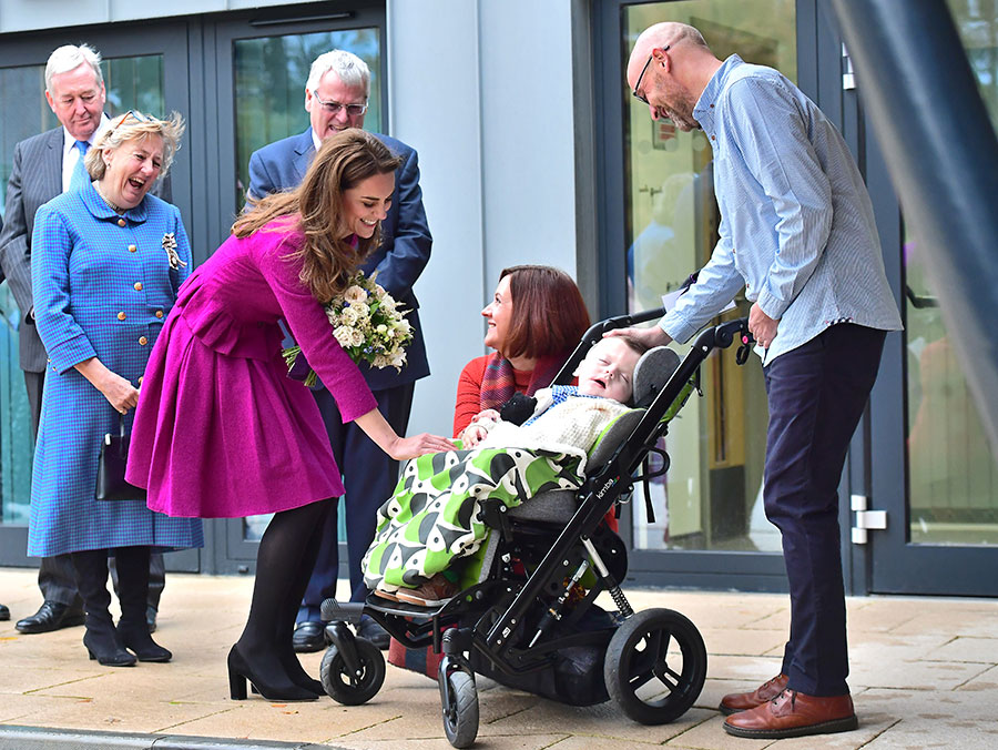 Kate Middleton opens new hospice for one of her first patronages best photos Photo c GETTY