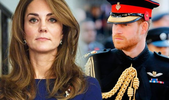 Kate Middleton reportedly avoided the drama between Harry and William