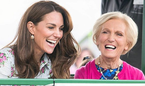 Kate and Mary team up for Christmas Image PA