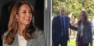 Kate and Prince William arrived at an event celebrating volunteers working with Shout Image PA TWITTER RICHARD PALMER