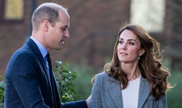 Kate and William are said to be concerned for Harry and Meghan Image GETTY