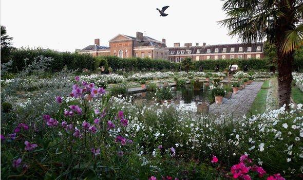 Kensington Palaces Memorial Garden