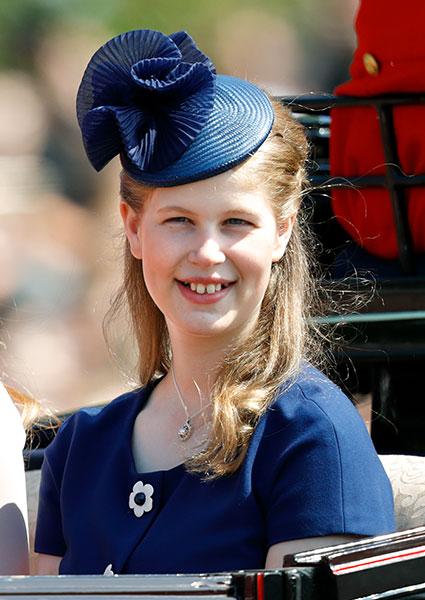 Lady Louise Windsor turned on November Photo C GETTY IMAGES