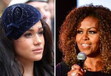 Meghan Duchess of Sussex and Michelle Obama have been depicted in a super heroine comic Image GETTY