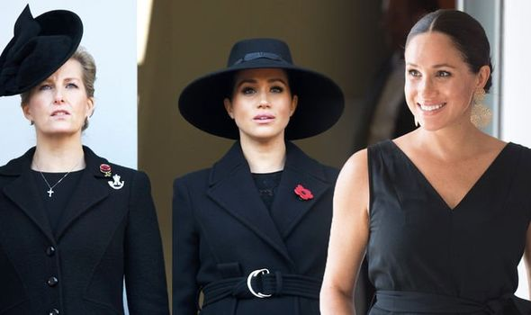 Meghan Markle Sophie Countess of Wessex could act as a mentor to Meghan Image GETTY
