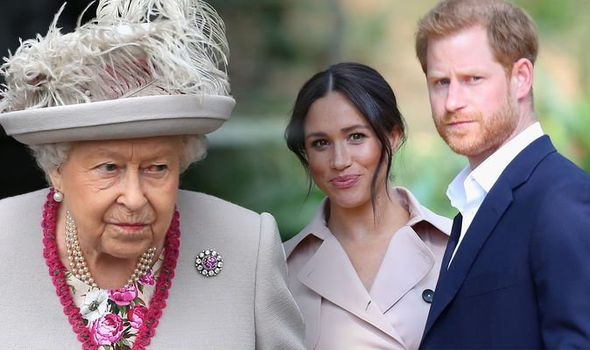 Meghan Markle and Prince Harry will not be spending Christmas with the Queen in Sandringham Image Getty