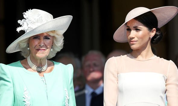 Meghan and Camilla