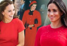 Meghan and Kate are intentionally paying respect to late Princess Diana with their fashion choices Image GETTY