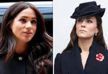 Meghan and Kate were revealed to have made secret visits to charities Image Getty Images