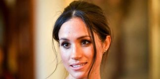 Meghan was said to have held herself with grace control and poise
