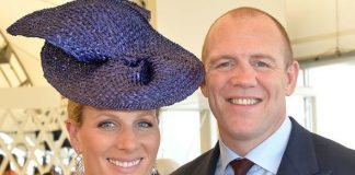 Mike and Zara Tindall Image GETTY