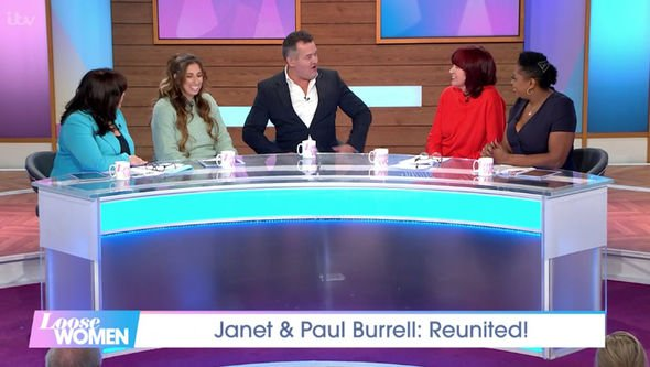 Paul Burrell spoke about the Royal Family on Loose Women Image ITV