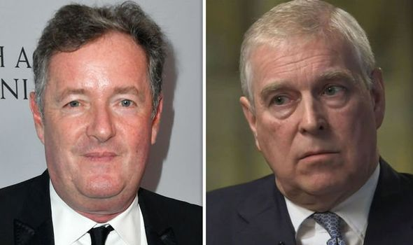 Piers Morgan launched an astonishing attack against Prince Andrew Image ITV BBC