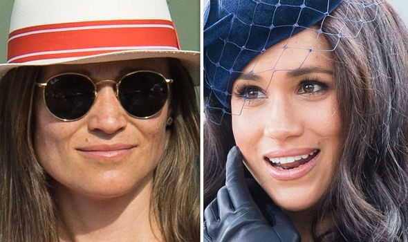Pippa Middleton news Kate's sister channels in Meghan in shock look Image GETTY