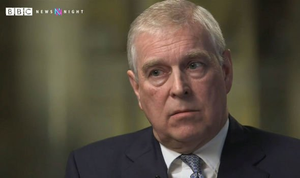Prince Andrew BBC Prince Andrew spoke to Emily Maitlis on Newsnight Image BBC