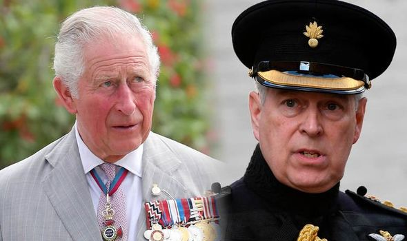 Prince Andrew feud Why did Prince Andrew reject Prince Charles job Image GETTY