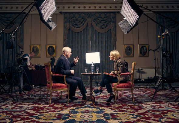 Prince Andrew interview Andrew gave an exclusive interview with Newsnight journalist Emily Maitlis Image PA
