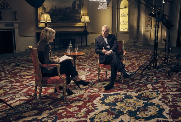 Prince Andrew interview The interview will air at pm on BBC Two tomorrow Image PA