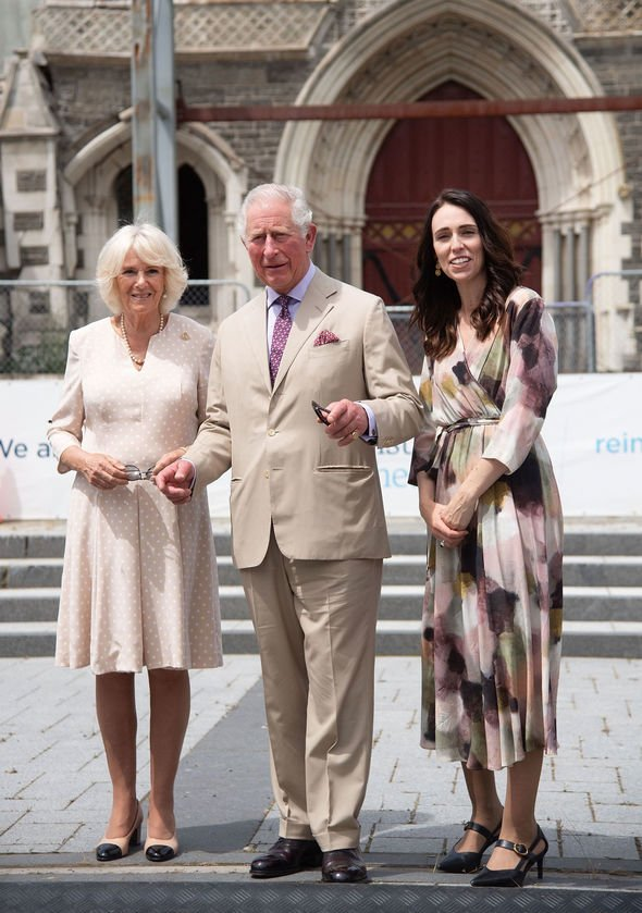 Prince Charles and Camilla split The couple spent the last day of their New Zealand tour in Christchurch Image GETTY