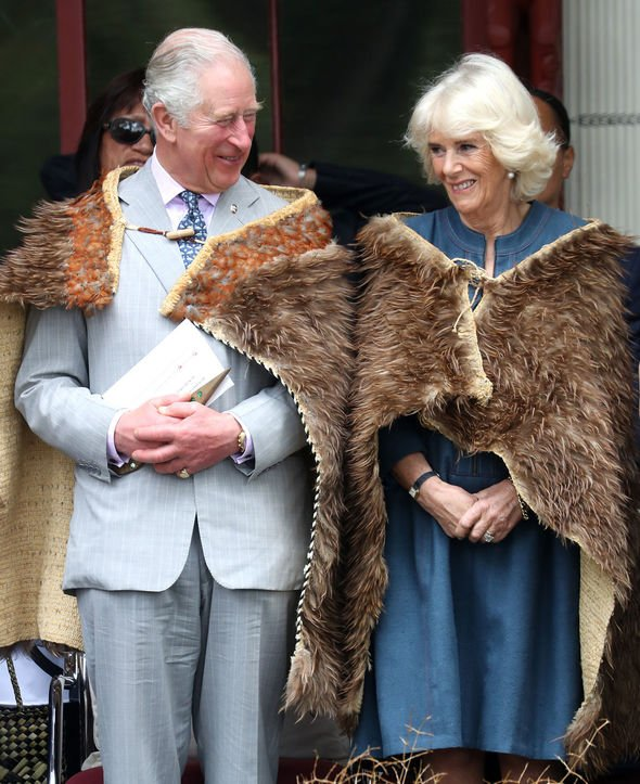 Prince Charles and Camilla split Their third tour of New Zealand has been hailed as a success Image GETTY
