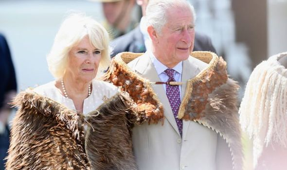Prince Charles and Camilla split Why did Duchess return to UK as Charles continued tour Image GETTY