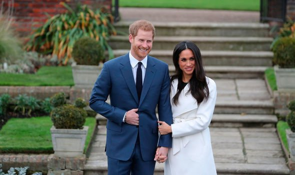 Prince Harry and Meghan Markle announced their engagement in the Memorial Garden