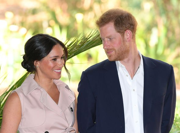 Prince Harry and Meghan Markle gave a candid interview in southern Africa