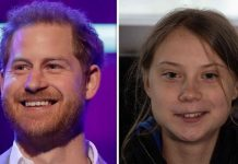 Prince Harry lavished praise on climate activist Greta Thunberg Image GETTY