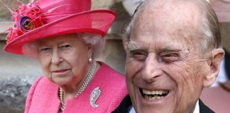Prince Philip and the Queen Image Getty