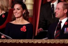 Prince William and Kate attending the Annual Royal British Legion Festival Of Remembrance Image Getty