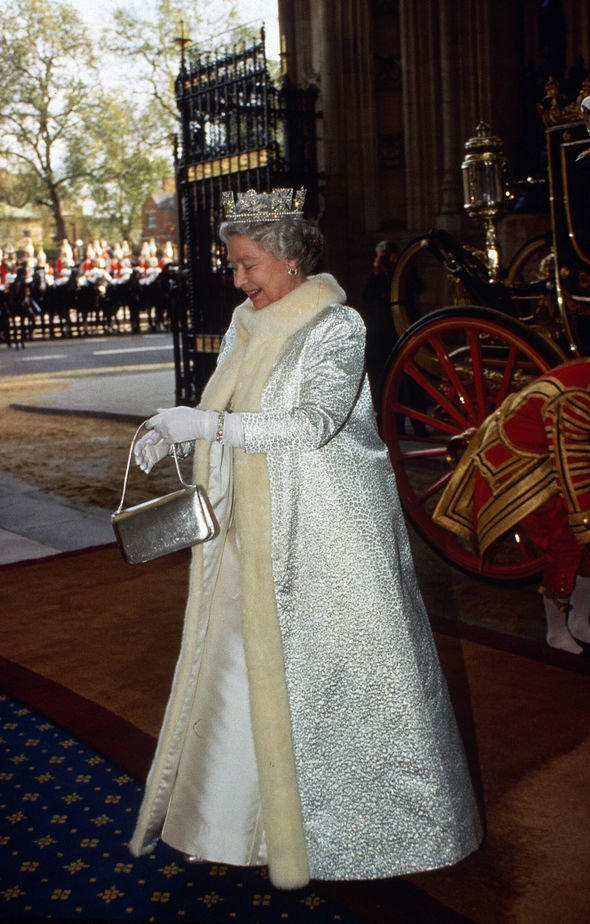 Queen Elizabeth made headlines after it was revealed that she had made the switch from fur to faux Image GETTY IMAGES