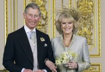 Royal break up Prince Charles and Camilla Duchess of Cornwall on their wedding day