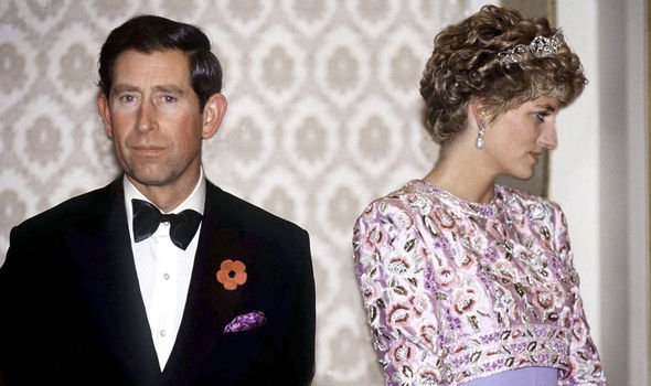 Royal fans have been drawing parallels with Diana