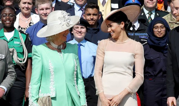 Sally Bedell Smith said Meghan could learn a lot from Camilla