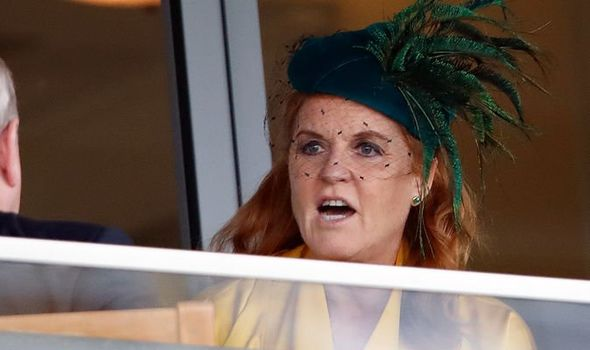 Sarah Ferguson devastated One royal upset Sarah when she wasnt invited to a royal event Image GETTY