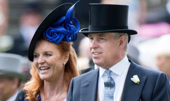 Sarah Ferguson news Sarah and Prince Andrew have a good relationship despite being divorced Image GETTY