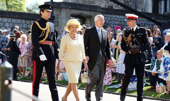 Sir John was the only senior politician invited to Harry and Meghans wedding