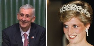 Sir Lindsay Hoyle Diana Princess of Wales