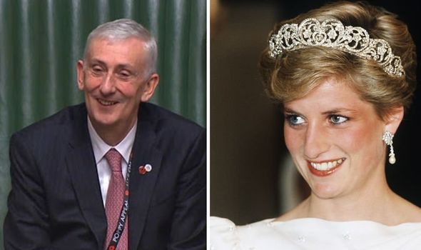 Sir Lindsay Hoyle Diana Princess of Wales