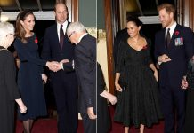 The Cambridges and the Sussexes reunite for the Festival of Remembrance – best photos Photo C GETTTY
