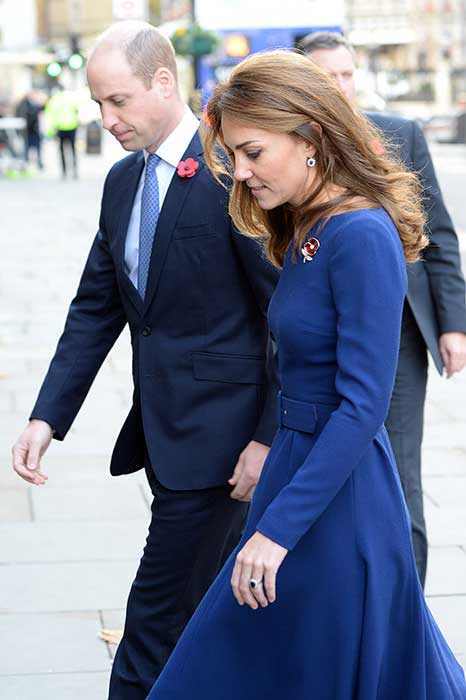 The Cambridges met with families and first responders Photo C GETTY IMAGES