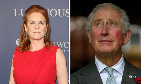 The Duchess of York and Prince of Wales