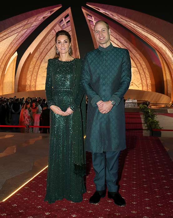The Duke and Duchess of Cambridge have shared a message of condolence after the Pakistan train fire Photo C GETTY IMAGES