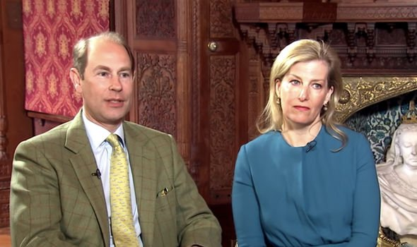 The Earl and Countess of Wessex